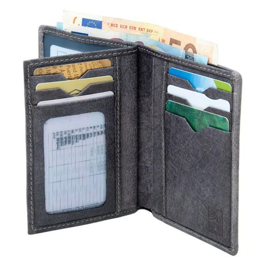 Billetera hombre 9 departamentos tarjetas Pielnoble Freeland PF232