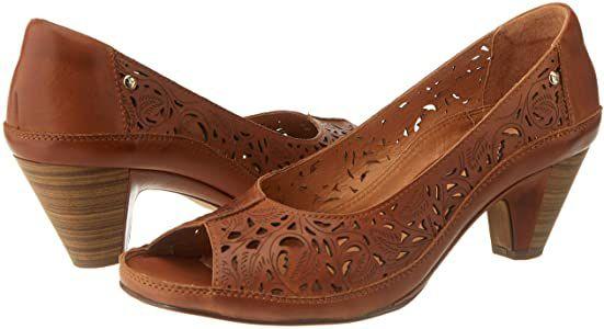 TALLA 42 - PIKOLINOS Zapato tacón de Piel Java W5A