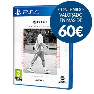 FIFA 21 Ultimate Edition PS4 Exclusivo GAME formato físico