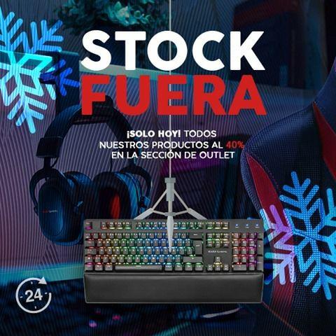 STOCK FUERA! 40% en sección outlet Mars Gaming
