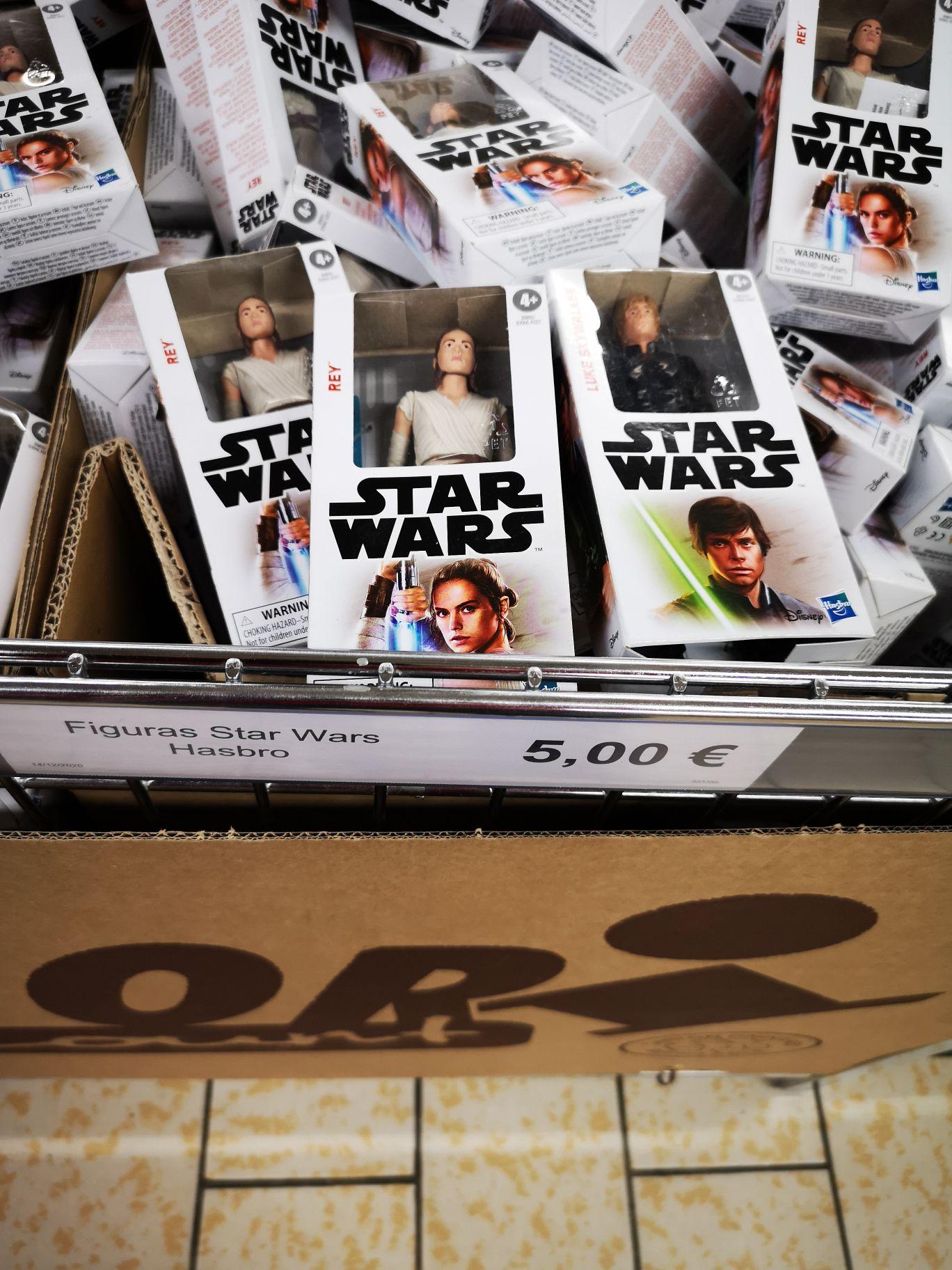 Figuras Star Wars (Lidl Outlet de Pinto)