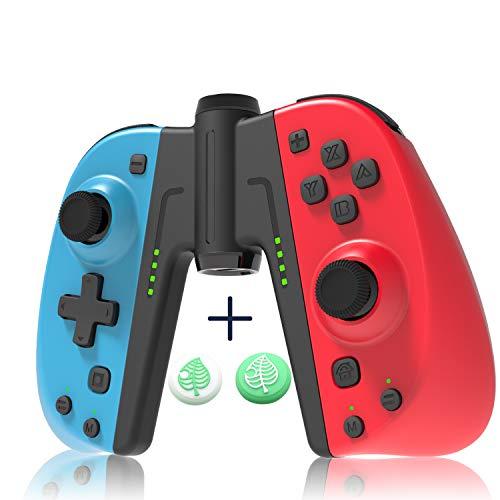 JOYSKY Mando para Nintendo Switch, Inalámbrico Controller I para Joycon Soporta Turbo/Vibración/Giroscopio/un Botón Programable
