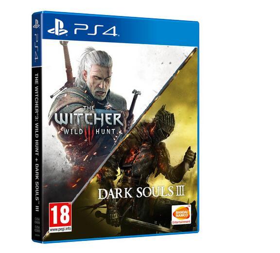 The Witcher III Wild Hunt + Dark Souls III para PS4