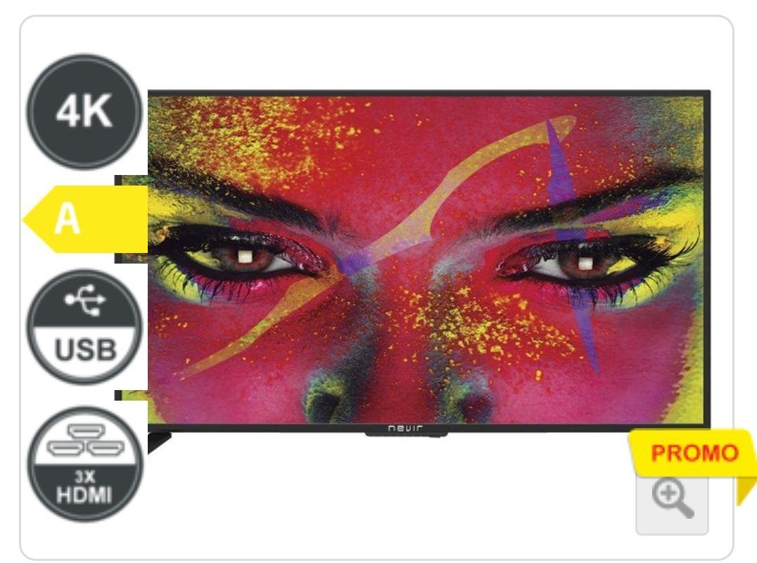 "Televisor Nevir 50"" 4K UltraHD Promo Conforama"