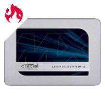 Disco Duro Crucial MX500 SSD 500GB desde Amazon.de (52.64€ precio total, con envío incluido)