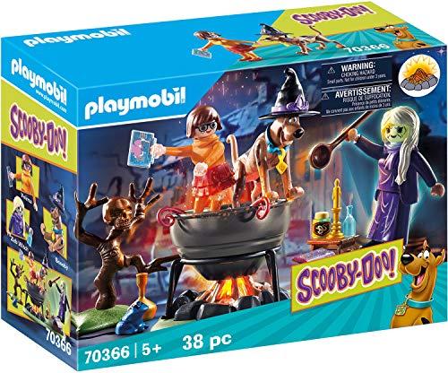 Playmobil Scooby-Doo aventura en el caldero de la bruja