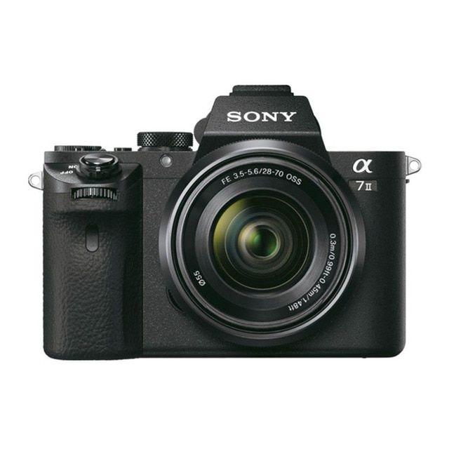 Cámara Evil Sony Alpha 7M2K con Objetivo Zoom 28-70 mm