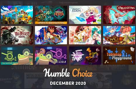 Humble Choice Premium por 4,92€ al mes (6 primeros meses)