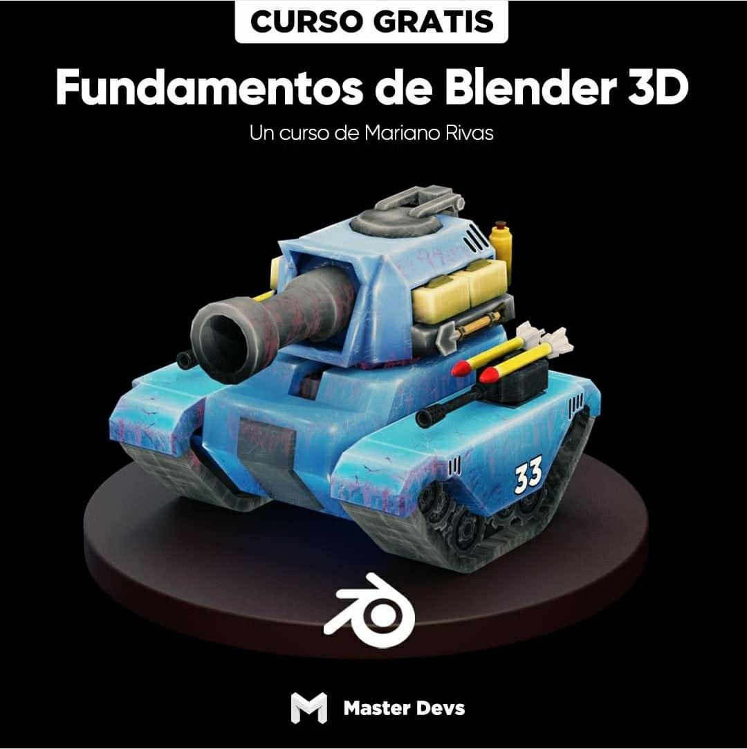 Curso de Blender 3D :: Gratis, con certificado