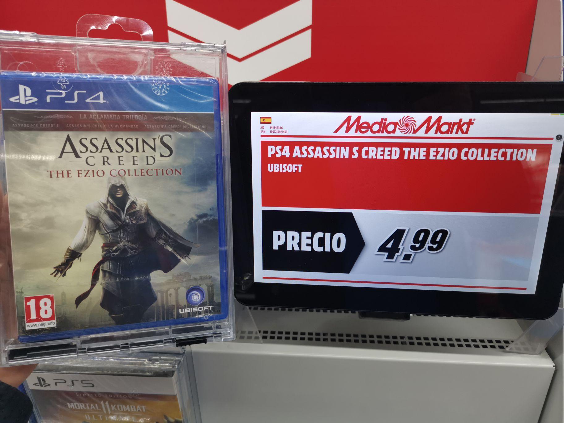 Assassin's Creed the Ezio Collection en Mediamarkt Alcalá de Henares