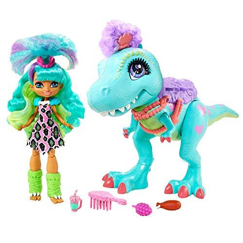 Rockelle y su amiga dinosaurio