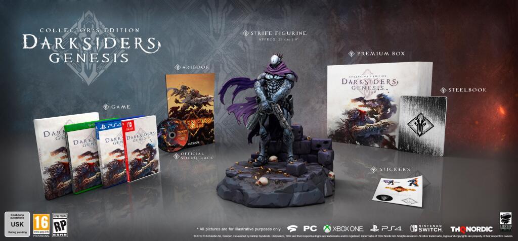 Darksiders Genesis Edición Coleccionista (PS4)