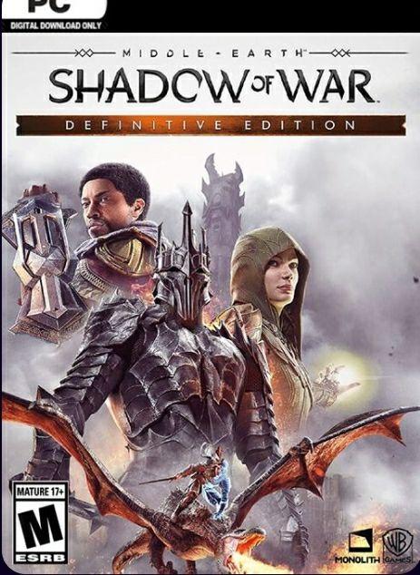 Edición Definitiva De La Tierra Media Shadow Of War Para Pc (Steam)