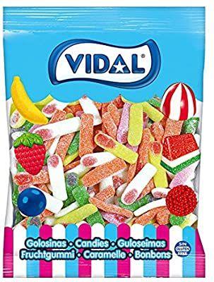 Vidal Golosinas. Dedos Pica surtidos. Caramelo de goma con sabor pica 1,5KG