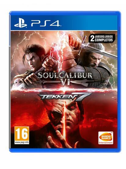 Pack Tekken 7 + SoulCalibur VI para PS4