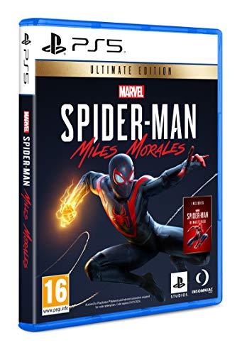 PS5 - Marvel´s Spider-Man: Miles Morales Ultimate Edition (incluye Marvel's Spiderman). MÍNIMO HISTÓRICO EN AMAZON
