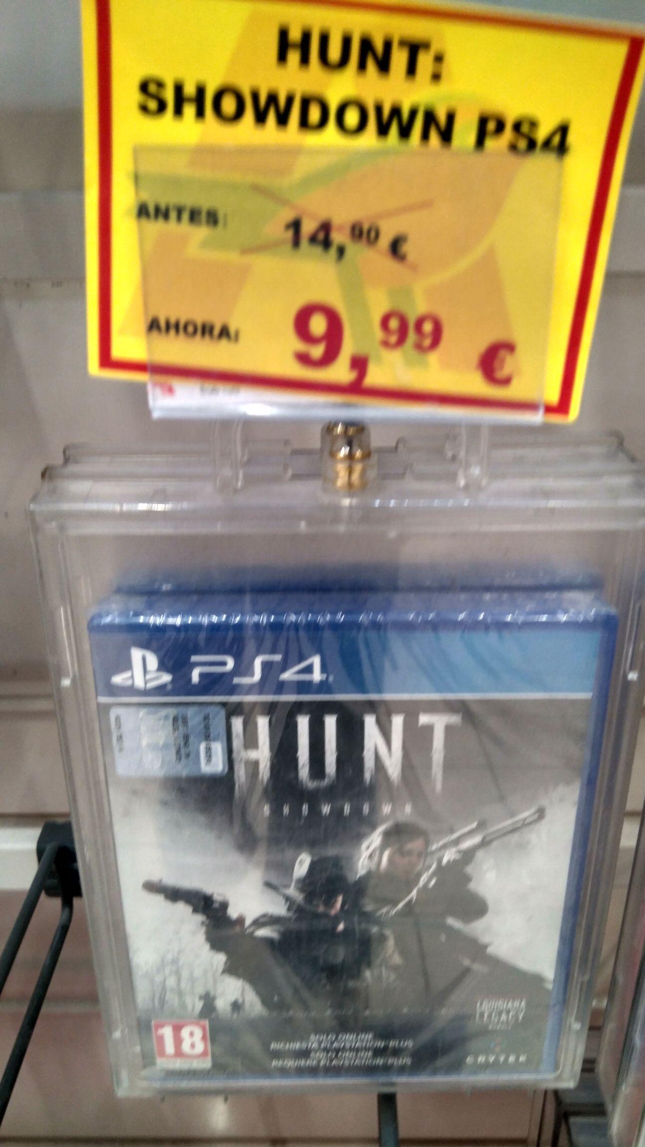 Hunt Showdown PS4 - Alcampo Torrejon de Ardoz (Madrid)