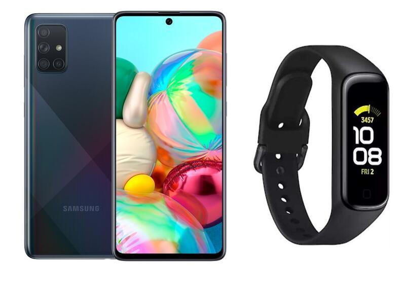 Samsung Galaxy A71 6GB-128GB + REGALO Galaxy Fit2