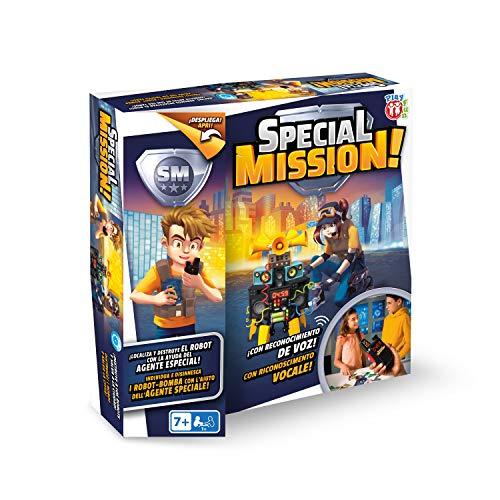 Juego Special Mission con reconocimiento de voz