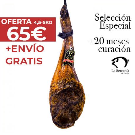 Paleta Serrabugo Huelva 4,5-5 kg Envio Gratis