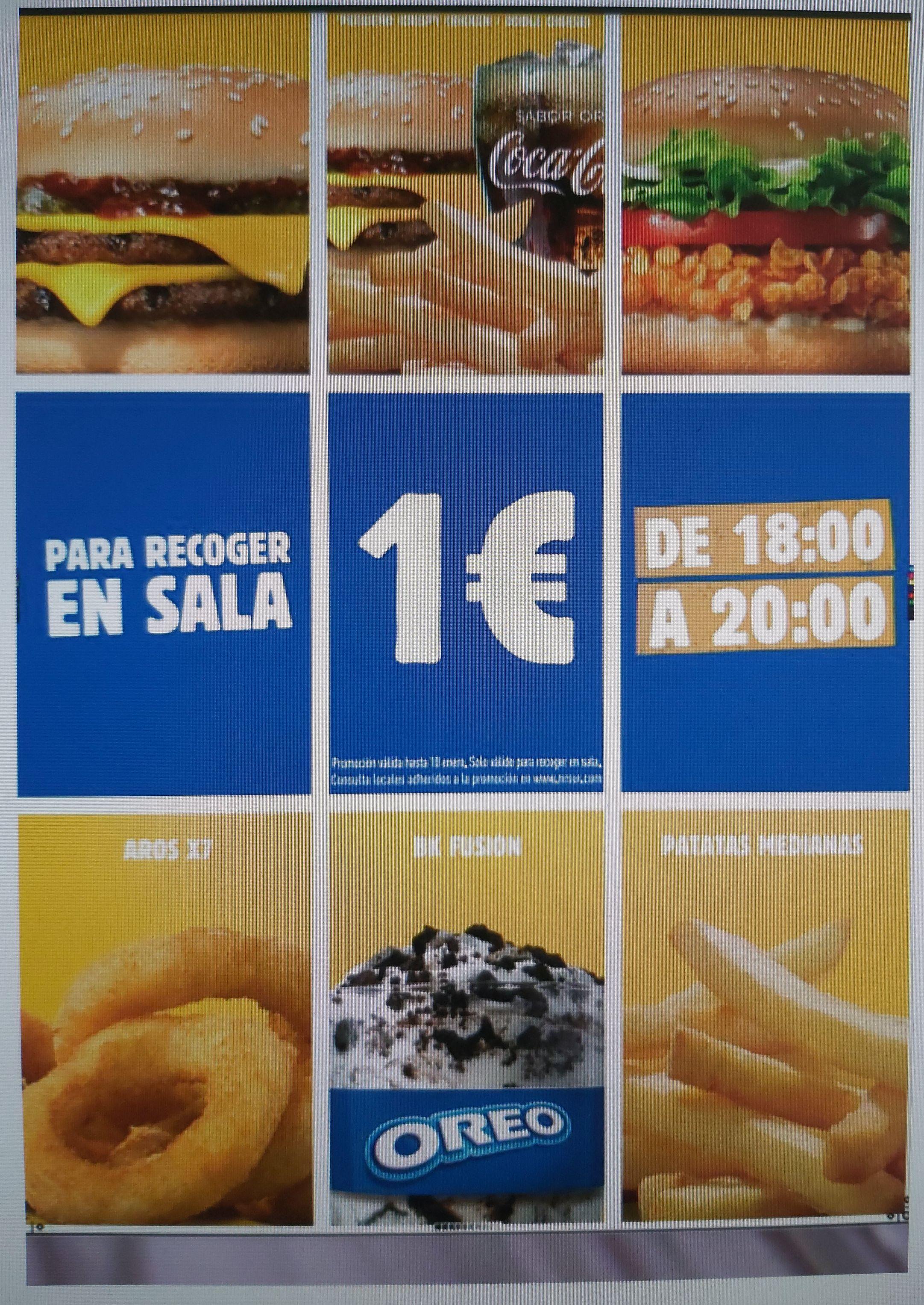Meriendas Burger King