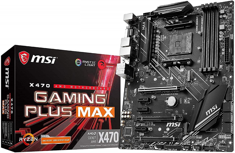 Placa Base MSI X470 Gaming Plus Max