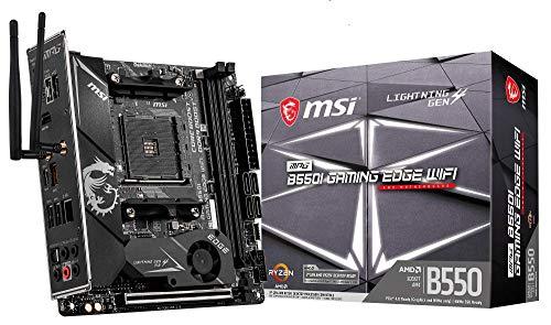 MSI MPG B550I Gaming Edge WiFi - Placa Base Performance Gaming (AMD AM4 DDR4 M.2 USB 3.2 Gen 2 HDMI ITX)