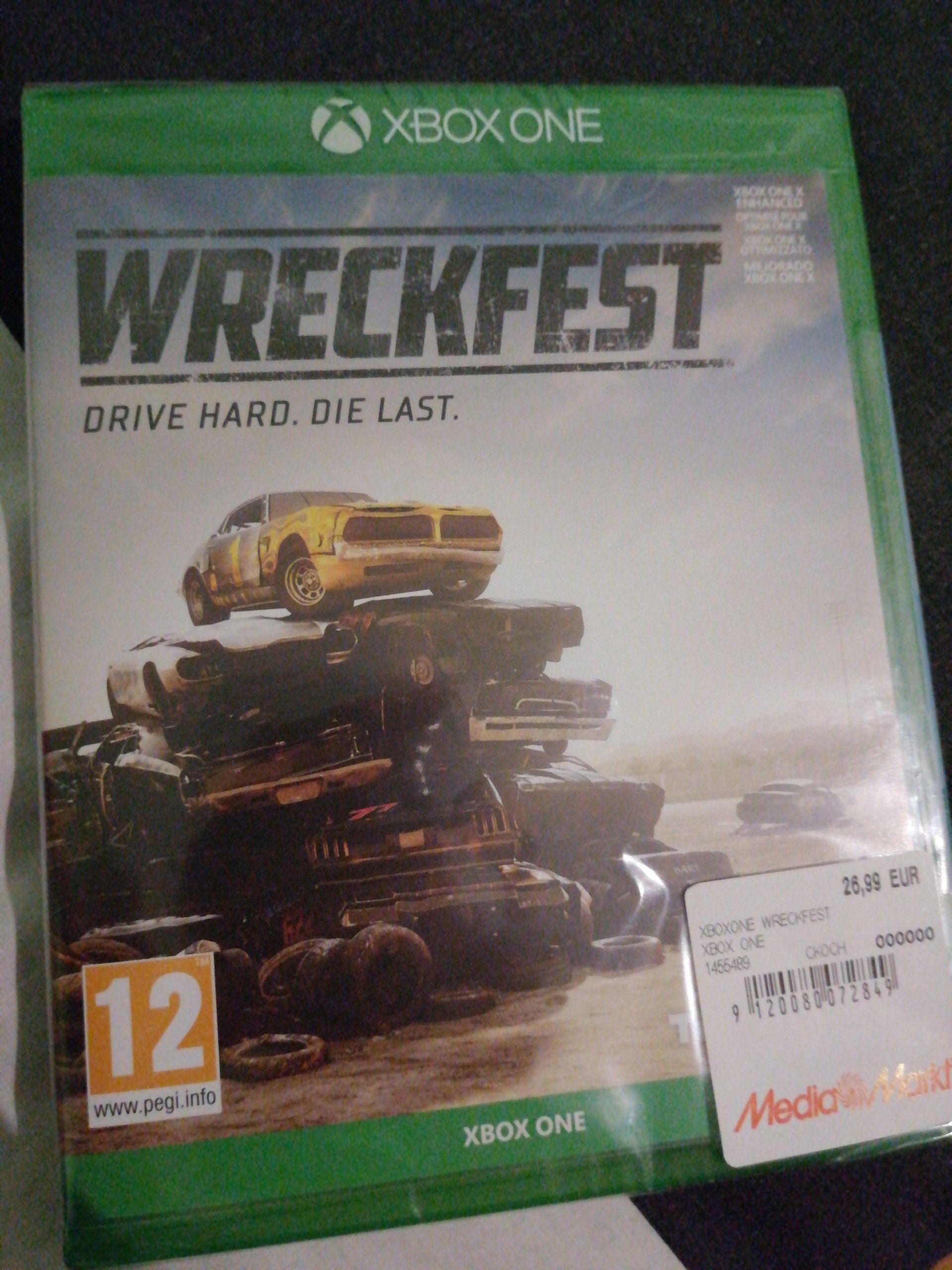 Wreckfest Xbox One en mediamarkt Lleida