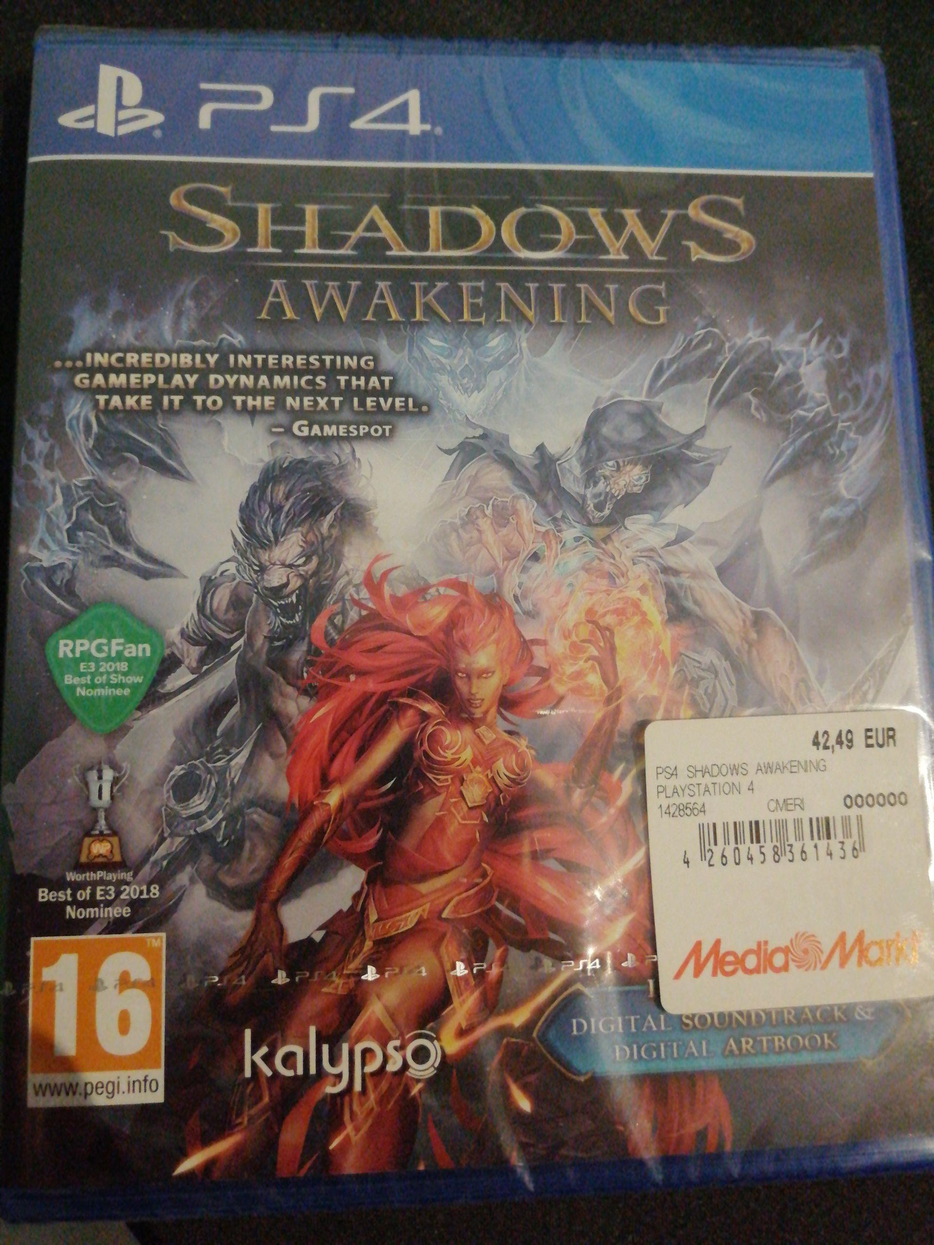 Shadows Awakening PS4 en mediamarkt Lleida