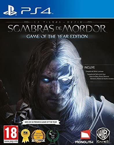 La tierra media: Sombras de Mordor GOTY PS4