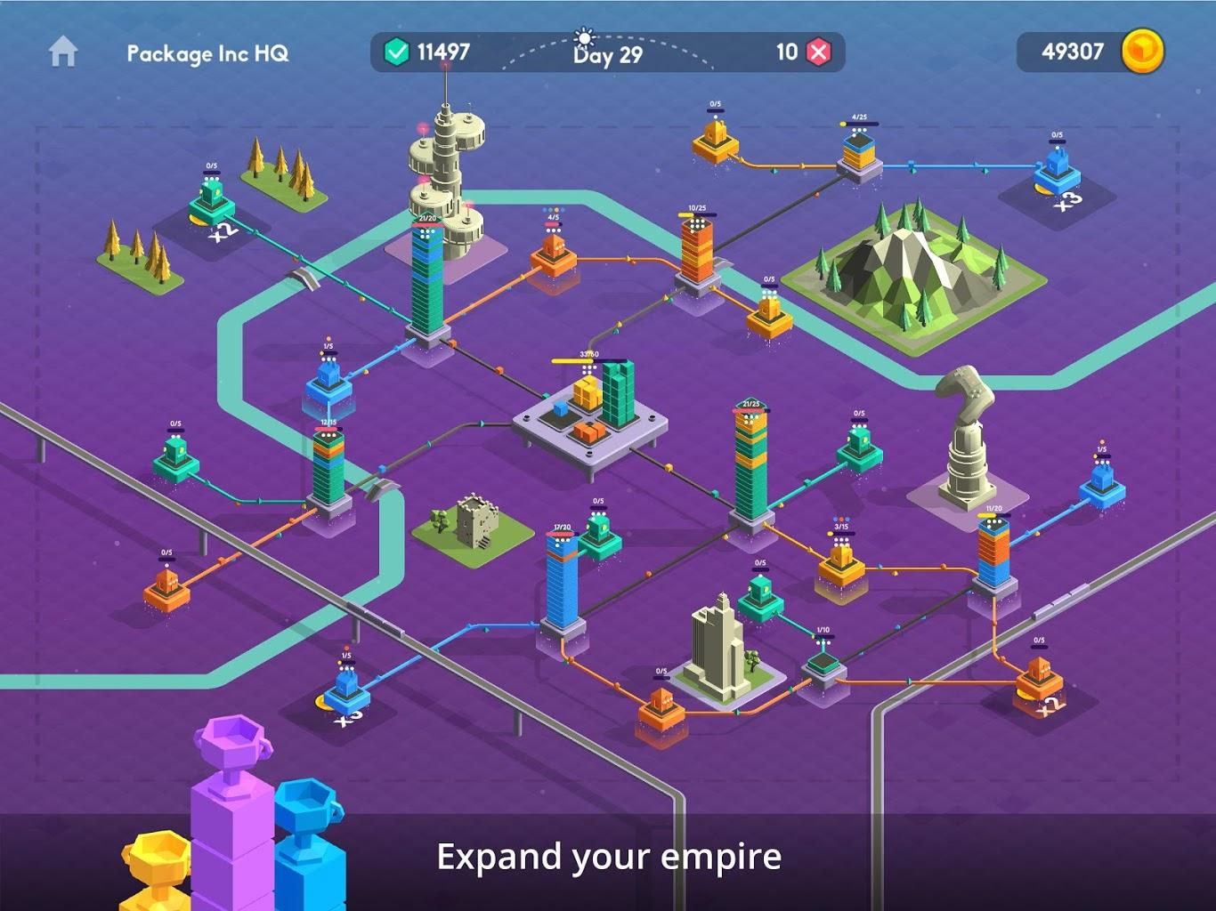Package Inc, Railways, Traffix, Lumos y MyDream Universe [IOS, Android]