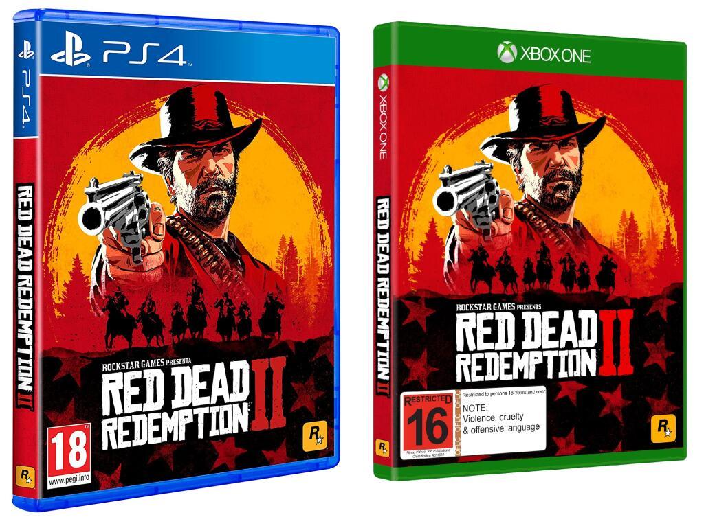 Red Dead Redemption II + 25 lingotes de oro [XBOX, PS4]