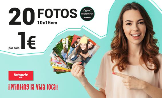 20 FOTOS POR 1 EURO