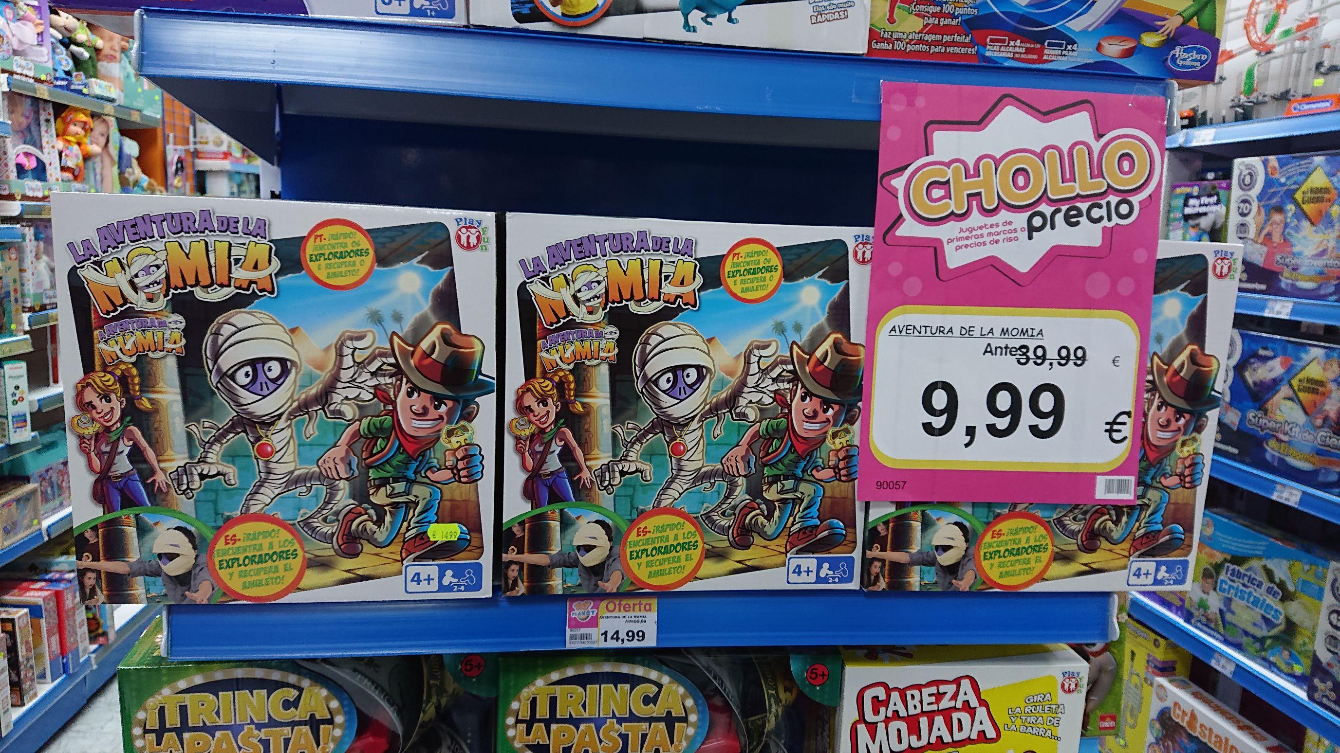 Aventura de la momia (Toy Planet La roda)