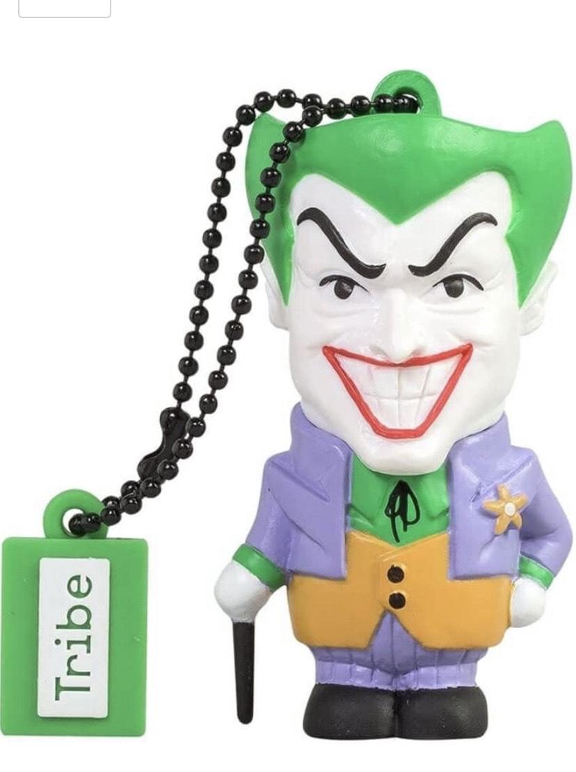 Llave USB 32 GB The Joker - Memoria Flash Drive 2.0 Original DC Comics,