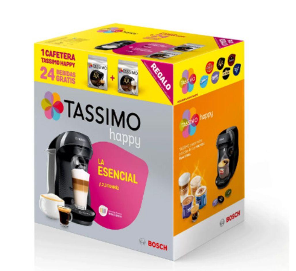 Cafetera Tassimo BOsch Happy TAS1002X + 24 BEBIDAS GRATIS!