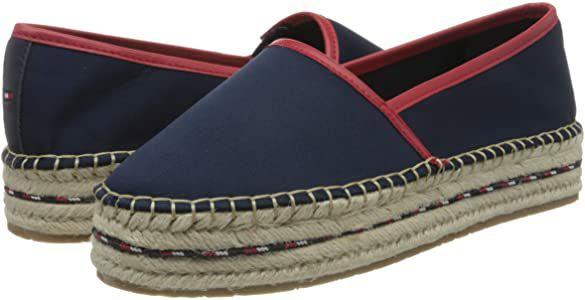 TALLA 40 - Sporty Basic Flatform Espadrille, Zapatos de Tacón Mujer