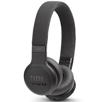 Auriculares inalámbricos - JBL LIVE 400 BT, Bluetooth, Autonomía 24 h, Negro