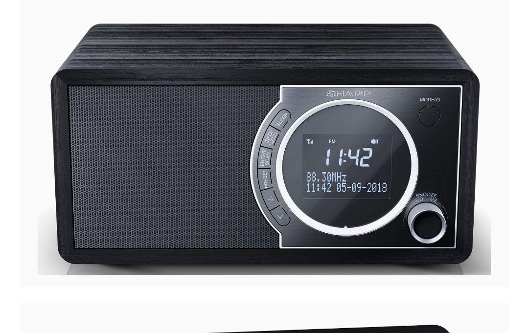 SHARP DR-450(BK) Radio Despertador con sintonizador