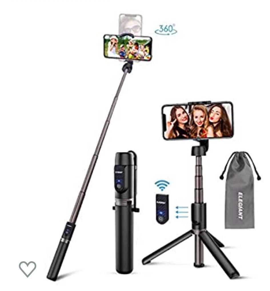 Palo Selfie Trípode, 3 en 1 Bluetooth Stick Movil