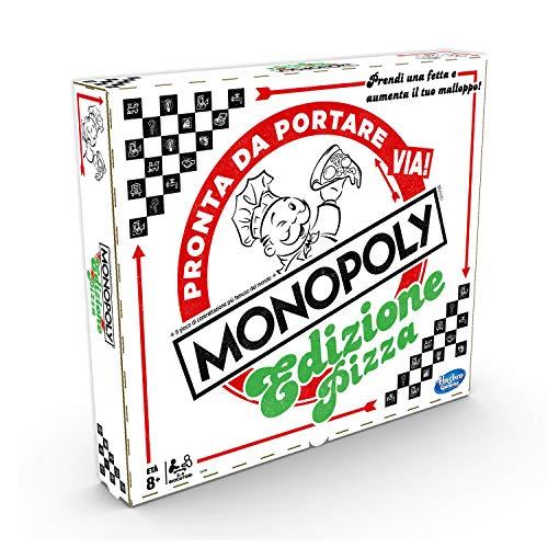 Monopoly Pizza, multicolor, versión italiana