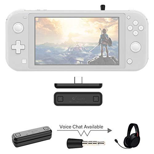 Sutefoto Bluetooth Adaptador Compatible para Nintendo Switch & Lite, PS4/PC,