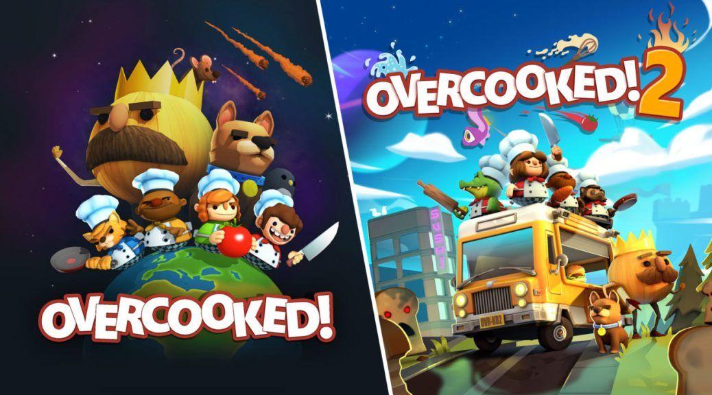 OVERCOOKED! + OVERCOOKED! 2 PS4 (pack 2 en 1)