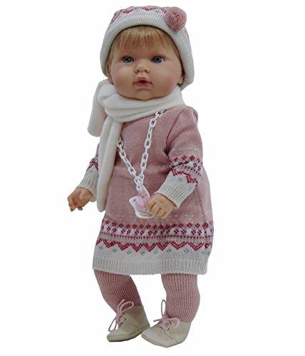 Muñeca Tita con chupete