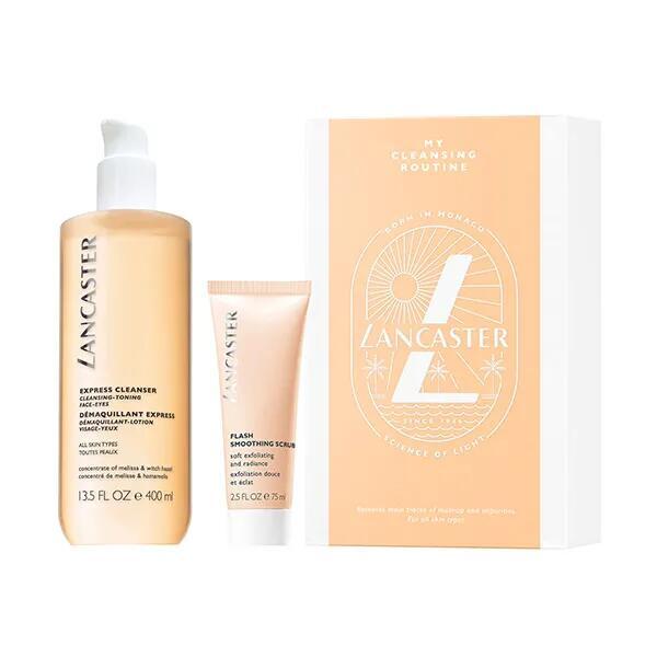 LANCASTER Estuche Dúo Express Cleanser | 1UD Limpieza y exfoliación facial.