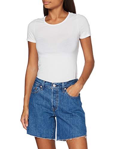 Levi's 501 Short Long Pantalones Cortos para Mujer Talla 31
