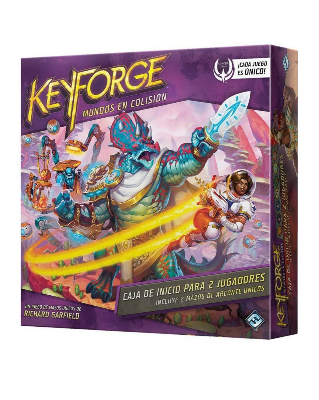 Keyforge Mundos en Colisión Fantasy Flight