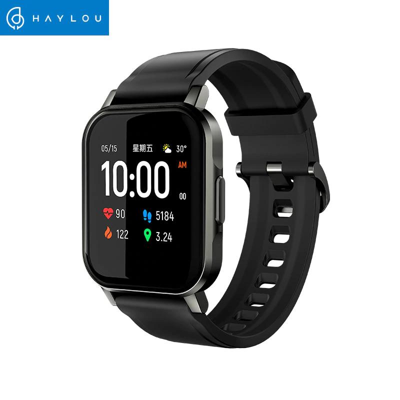 Smartwatch Xiaomi Haylou LS02, BT 5.0, 12 modos deportivos, IP68