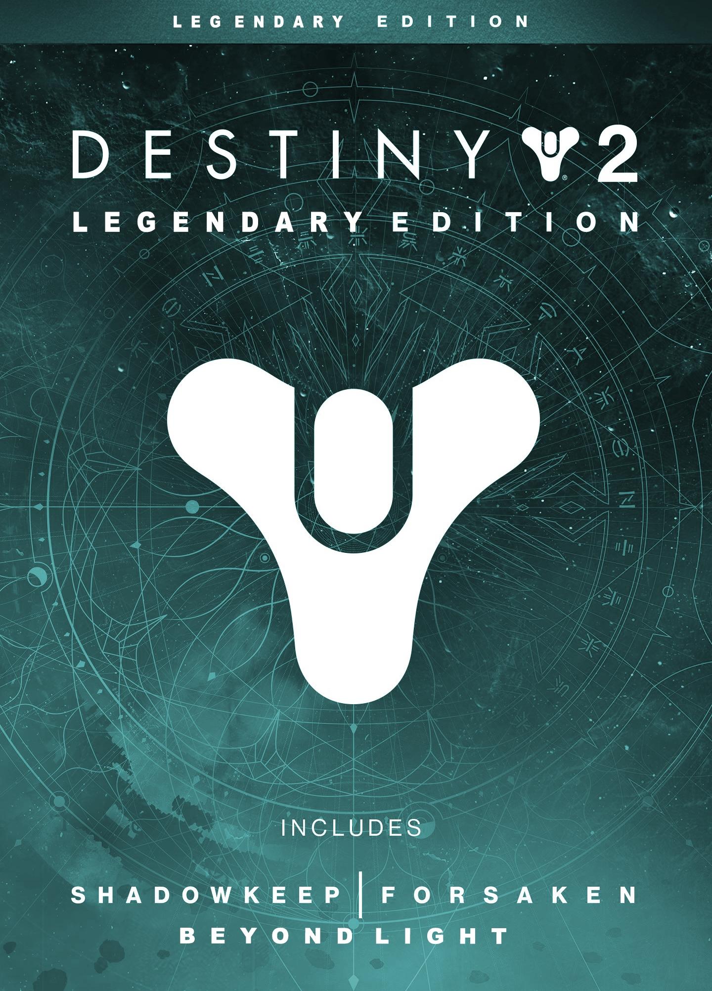 Destiny 2 Edición Legendaria Steam Key