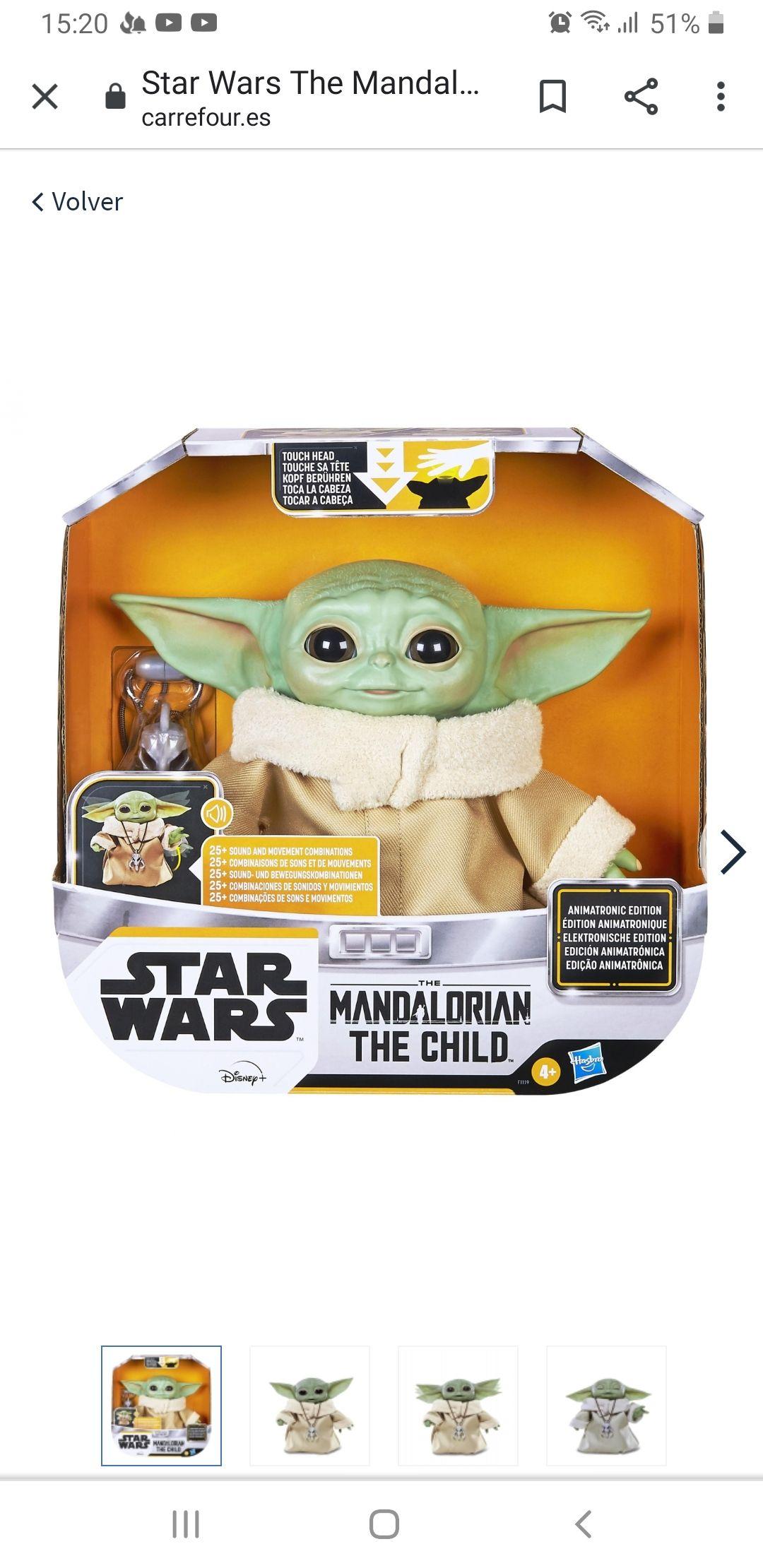 Star Wars The Mandalorian - The Child Animatronic Star Wars